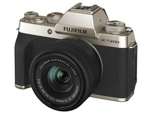 FUJIFILM X-T200 レンズキット [シャンパンゴールド]