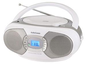 オーム電機 CDラジオ(シルバー) RCR-220N-S