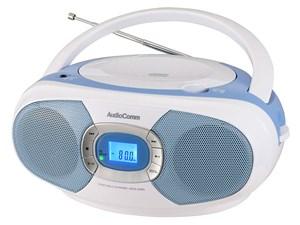 オーム電機 CDラジオ(ブルー) RCR-220N-A