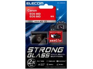 エレコム デジカメ 液晶保護フィルム キヤノン EOS 90D EOS 80D ゴリラ DFL-C・・・