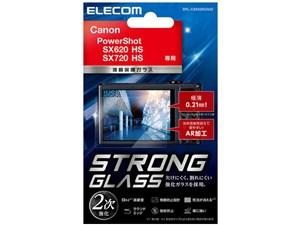 エレコム デジカメ 液晶保護フィルム ガラス キヤノン PowerShot DFL-CSX620G・・・