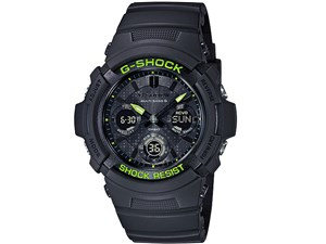 G-SHOCK Black and Yellow Series AWG-M100SDC-1AJF