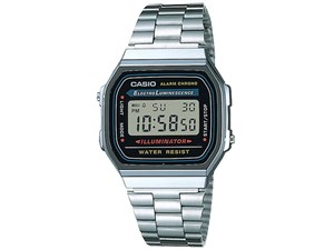 カシオ メンズデジタル腕時計 シルバー (包装・のし可) 4971850541257
