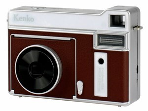 Kenko モノクロインスタントカメラ 感熱紙使用 KC-TY01 BR ブラウン