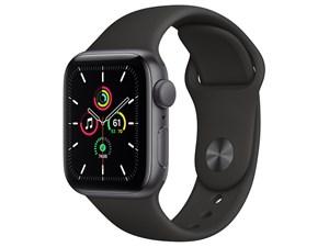 Apple Watch SE GPSモデル 40mm MYDP2J/A [ブラックスポーツバンド]