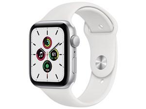 Apple Watch SE GPSモデル 44mm MYDQ2J/A [ホワイトスポーツバンド]