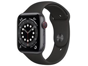 Apple Watch Series 6 GPS+Cellularモデル 44mm MG2E3J/A [ブラックスポーツ・・・