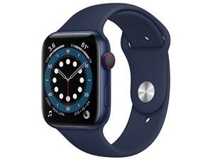 Apple Watch Series 6 GPS+Cellularモデル 44mm M09A3J/A [ディープネイビー・・・