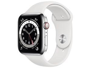 Apple Watch Series 6 GPS+Cellularモデル 44mm M09D3J/A [シルバーステンレ・・・
