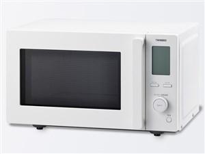 DR-F281W ツインバード センサー付フラット電子レンジ ホワイト