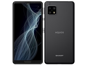 AQUOS sense4 SH-M15 SIMフリー [ブラック] (SIMフリー)