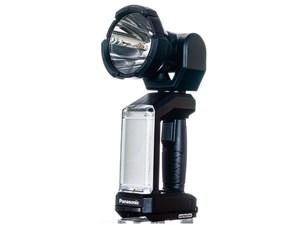 パナソニック 工事用充電LEDスポットワイドライト EZ37C6X-B ブラック