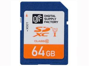 オーム電機 SDXCメモリーカード(64GB/CLASS10) PC-MS64G-K