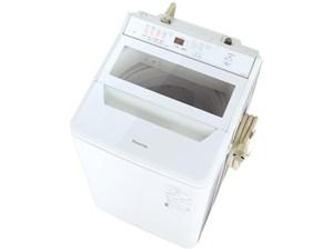 パナソニック インバーター全自動洗濯機(ホワイト) NA-FA80H9-W