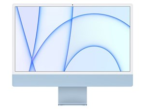 iMac 24インチ Retina 4.5Kディスプレイモデル MGPK3J/A [ブルー]