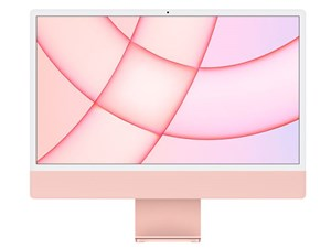 iMac 24インチ Retina 4.5Kディスプレイモデル MGPN3J/A [ピンク]