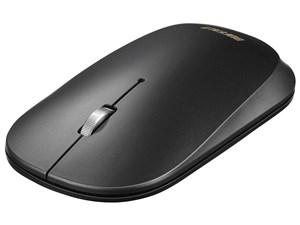 薄型 3ボタン Bluetooth BlueLEDマウス ノーマル ブラック BSMBB330NBK