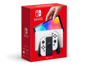Nintendo Switch (有機ELモデル) HEG-S-KAAAA [ホワイト] 商品画像1:沙羅の木