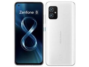Zenfone 8 128GB SIMフリー [ムーンライトホワイト] (SIMフリー)