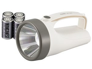 オーム電機 LED強力懐中ライト(ホワイト) LPP-20A7