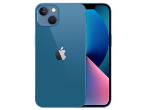 iPhone 13 512GB SIMフリー [ブルー] (SIMフリー)  MLNT3J/A
