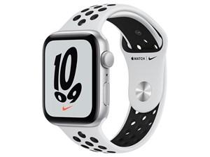 Apple Watch Nike SE GPSモデル 44mm MKQ73J/A [ピュアプラチナム/ブラックNi・・・